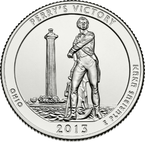 Ohio State Quarter (United States Mint image).