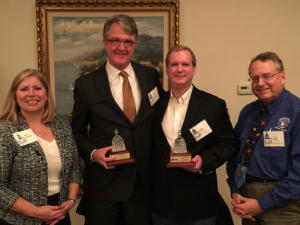 Deihl, Adkins, and Allen Honored with Service Award