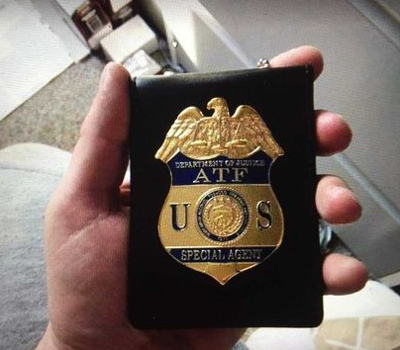 Fake ATF Badge